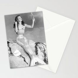 Vintage Mermaid : Mr Peabody & The Mermaid Stationery Cards