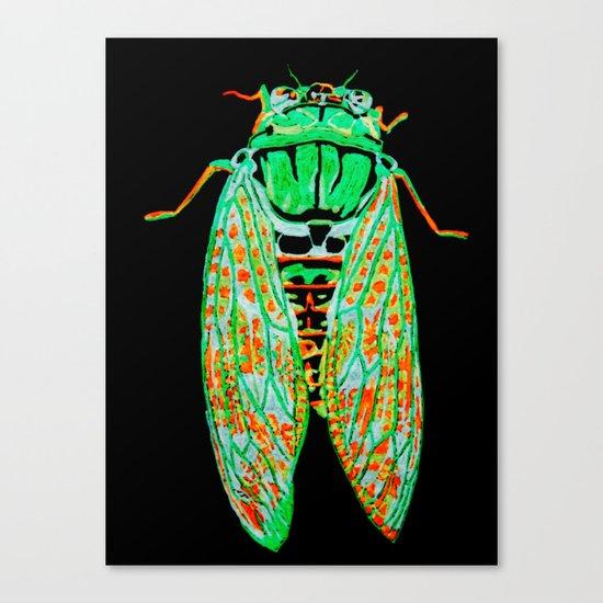 Cicada (Inverted) Canvas Print