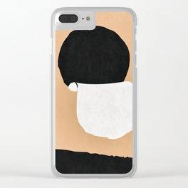 Tin Can Sun Clear iPhone Case