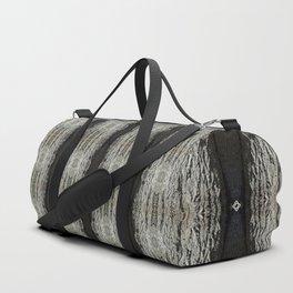 Oak Tree Bark Vertical Pattern by Debra Cortese Designs Duffle Bag