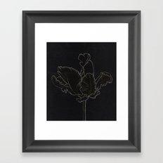 Dark Orchid Framed Art Print