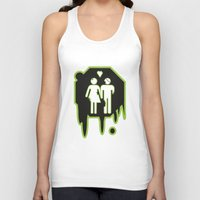 zombies Tank Tops featuring Zombies by JJ Fry