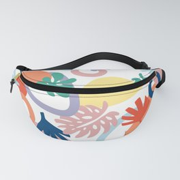 Modern Forest Pattern Swatch Fanny Pack