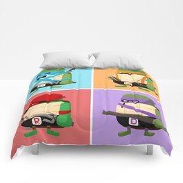 Turtles in Disguise Comforters