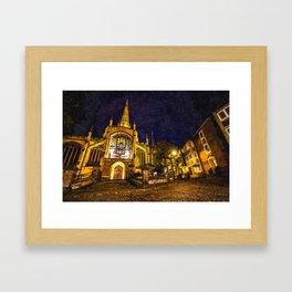 The Holy Trinity Spire Framed Art Print