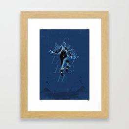Contact High Framed Art Print