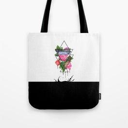 The aggressiveness of roses Tote Bag