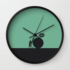 WTF? Golf Wall Clock