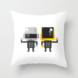 LEGENDARY ELECTRO DUO Throw Pillow
