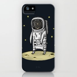 Moon Bear iPhone Case