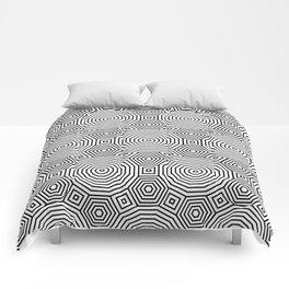 Op Art 11 Comforters