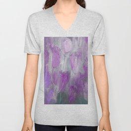 Shades of Lilac Unisex V-Neck