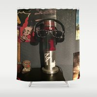 vans Shower Curtains featuring Pop Culture by Isaak_Rodriguez