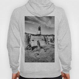 Spurn Point Lighthouse and Groynes Hoody