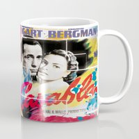 casablanca Mugs featuring Casablanca by Paky Gagliano