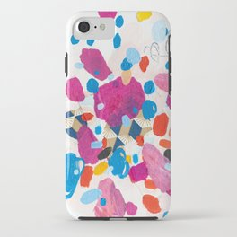 Fuchsia Physics iPhone Case