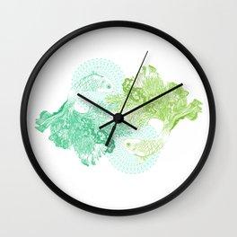 Sea Dancers Wall Clock