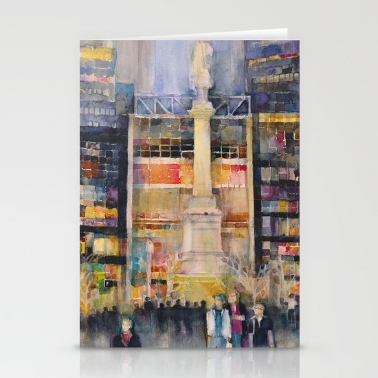 Time Warner Building, New York City Stationery Cards
