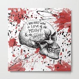 Horror Love Metal Print