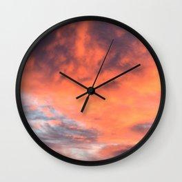 Phoenix Reborn Wall Clock