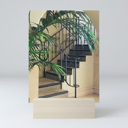 Secret Stair Steps to a Romantic Hideaway Mini Art Print