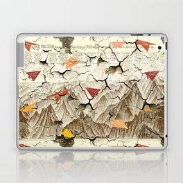 Peeling Pyrenees Paper Planes Laptop & iPad Skin