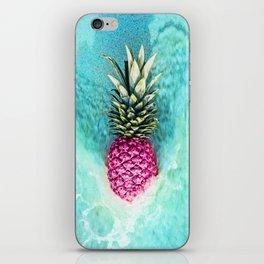 Pineapple Waves iPhone Skin
