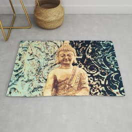 Earth Zen Buddha Rug