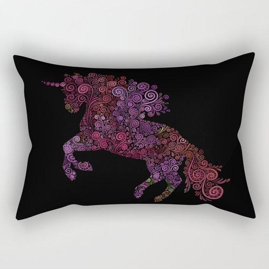 Unicornis Filix Rectangular Pillow