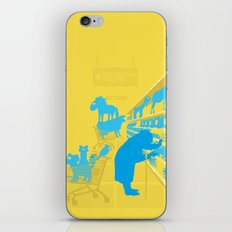 I don't know why she swallowed a fly... iPhone & iPod Skin