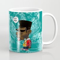hip hop Mugs featuring Hip-Hop. by BbStarD
