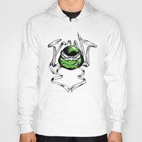 tmnt Hoodies featuring TMNT by Daniel Delgado