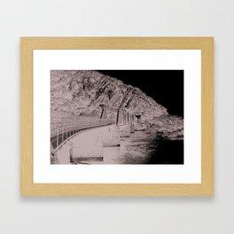 Harpers Ferry Railroad Bridge Framed Art Print