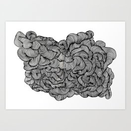 Playful Ink Art Print