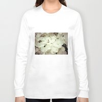 hydrangea Long Sleeve T-shirts featuring hydrangea by Bonnie Jakobsen-Martin