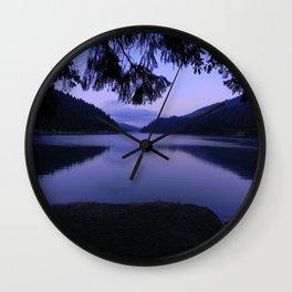 Ruth Lake early morning view Wall Clock