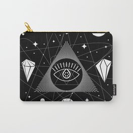 Space Crystals & Secrets of the Universe Carry-All Pouch