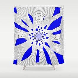 La planète bleue ... Shower Curtain