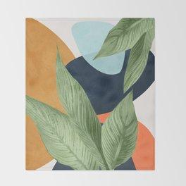 Nature Geometry VIII Throw Blanket