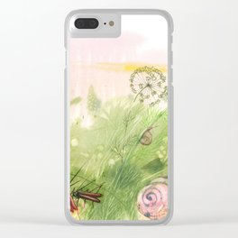 Insects concert Clear iPhone Case