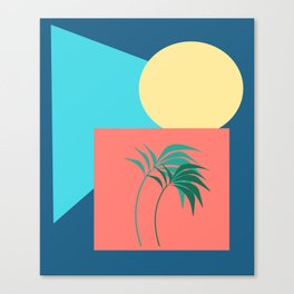 Shapes of the Palm Canvas Print
