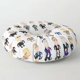 45 Presidents of the U.S.A. Floor Pillow