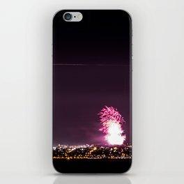 Arthurs Seat Fireworks iPhone Skin