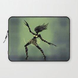 Creepy Midnight Dancing Girl Laptop Sleeve