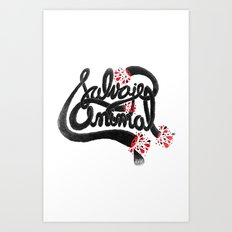 SALVAJEANIMAL headless III Art Print