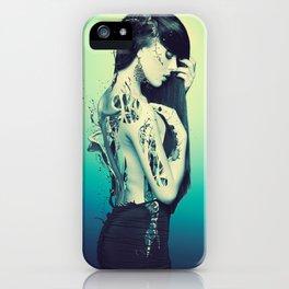Fractured 02 iPhone Case