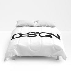 Typo Design Comforters