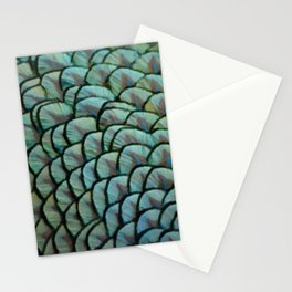 Beautiful Elegant Peacock Feathers Stationery Cards