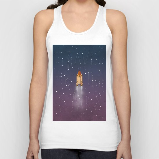Travel to the Stars Unisex Tank Top