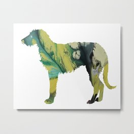 deerhound  Metal Print